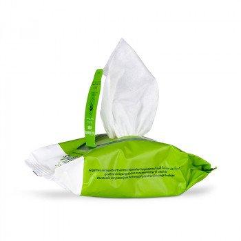EmerginC Scientific Organics Biodegradable Facial Cleansing Wipes (30 Pack)
